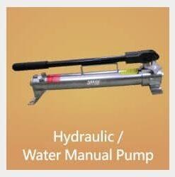 Pompe manuelle hydraulique / eau