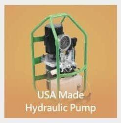 Pompe hydraulique fabriquée aux États-Unis