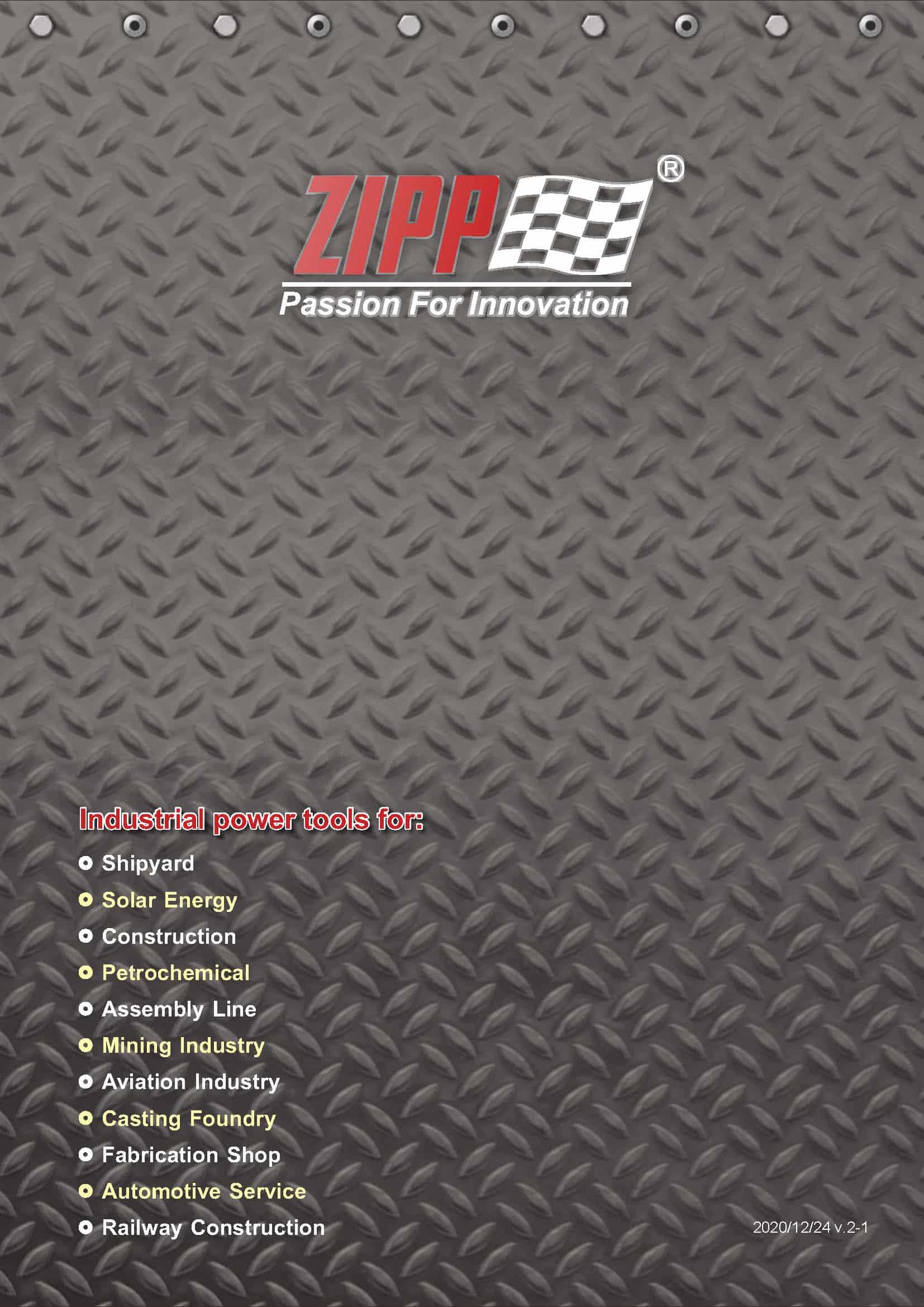 ZIPP Catálogo Geral da FERRAMENTA 頁面 001