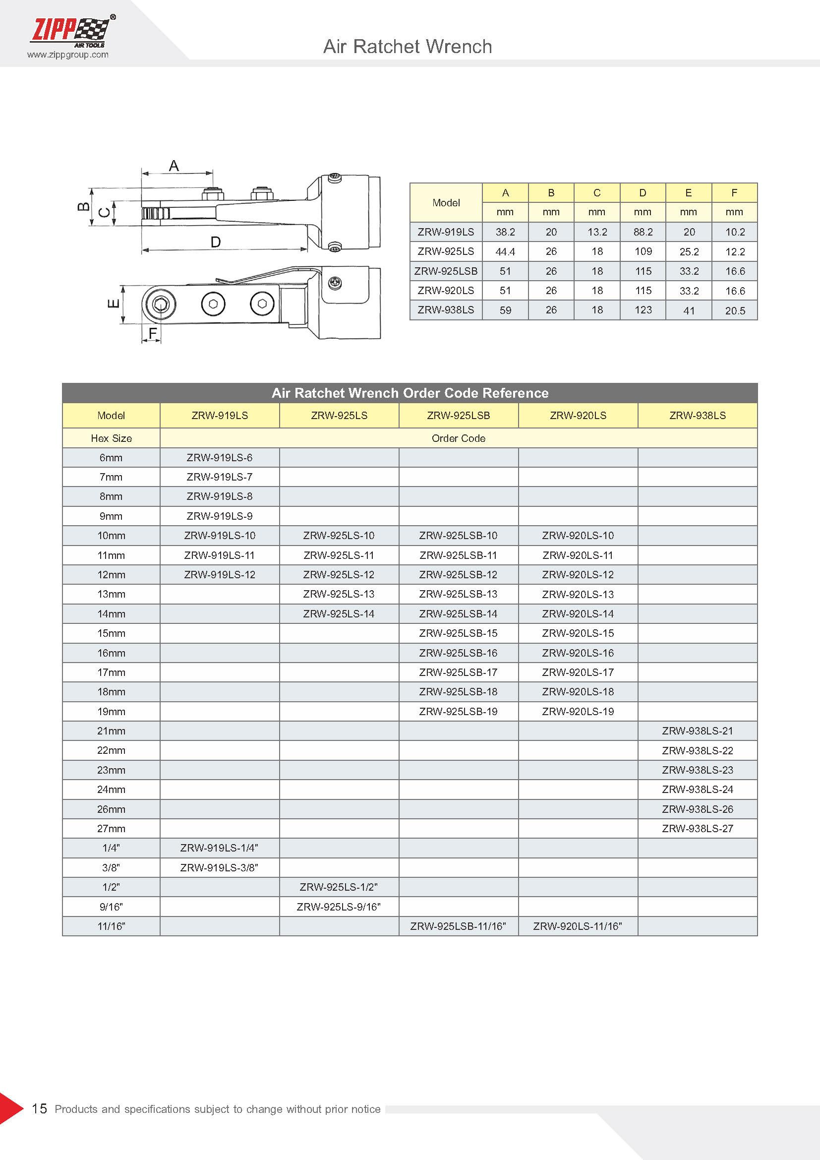 ZIPP Catálogo Geral da FERRAMENTA 頁面 020