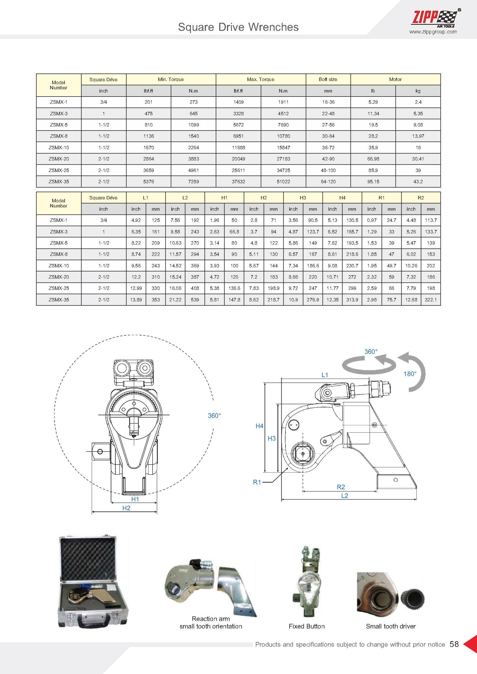 ZIPP Catálogo Geral da FERRAMENTA 頁面 063