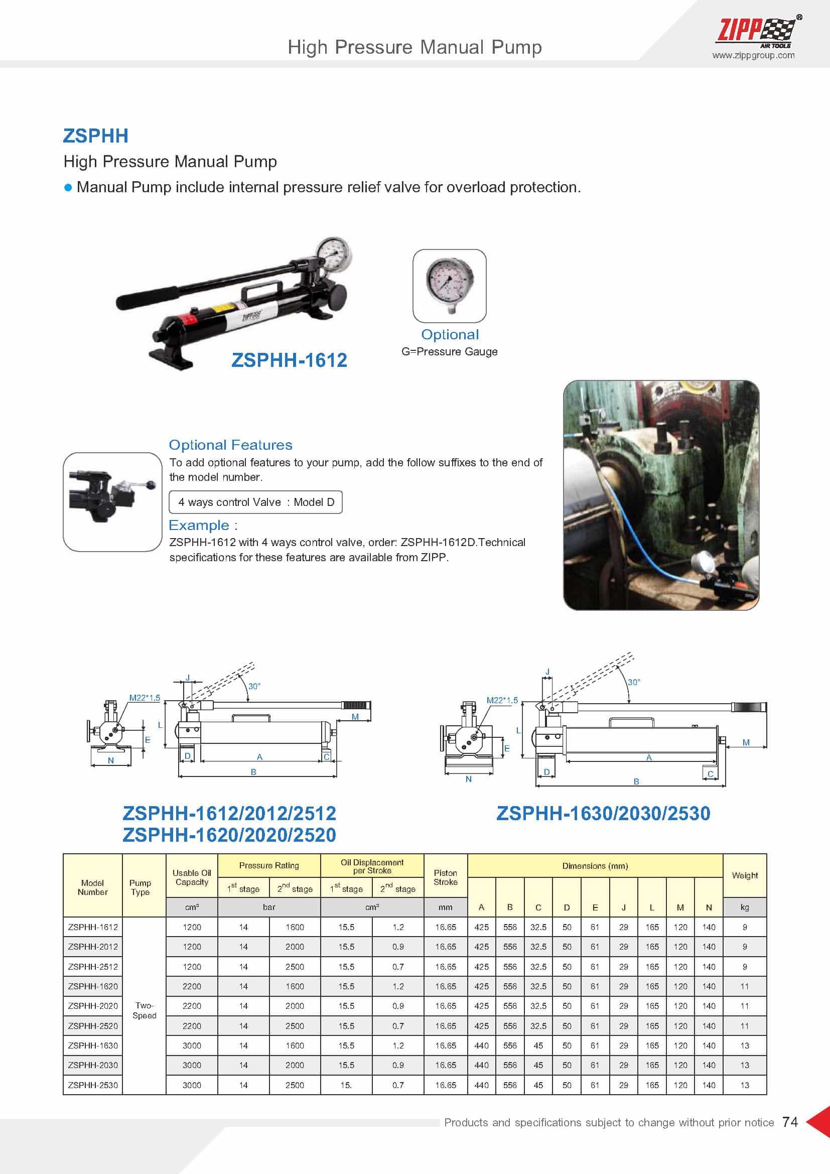 ZIPP Catálogo Geral da FERRAMENTA 頁面 079