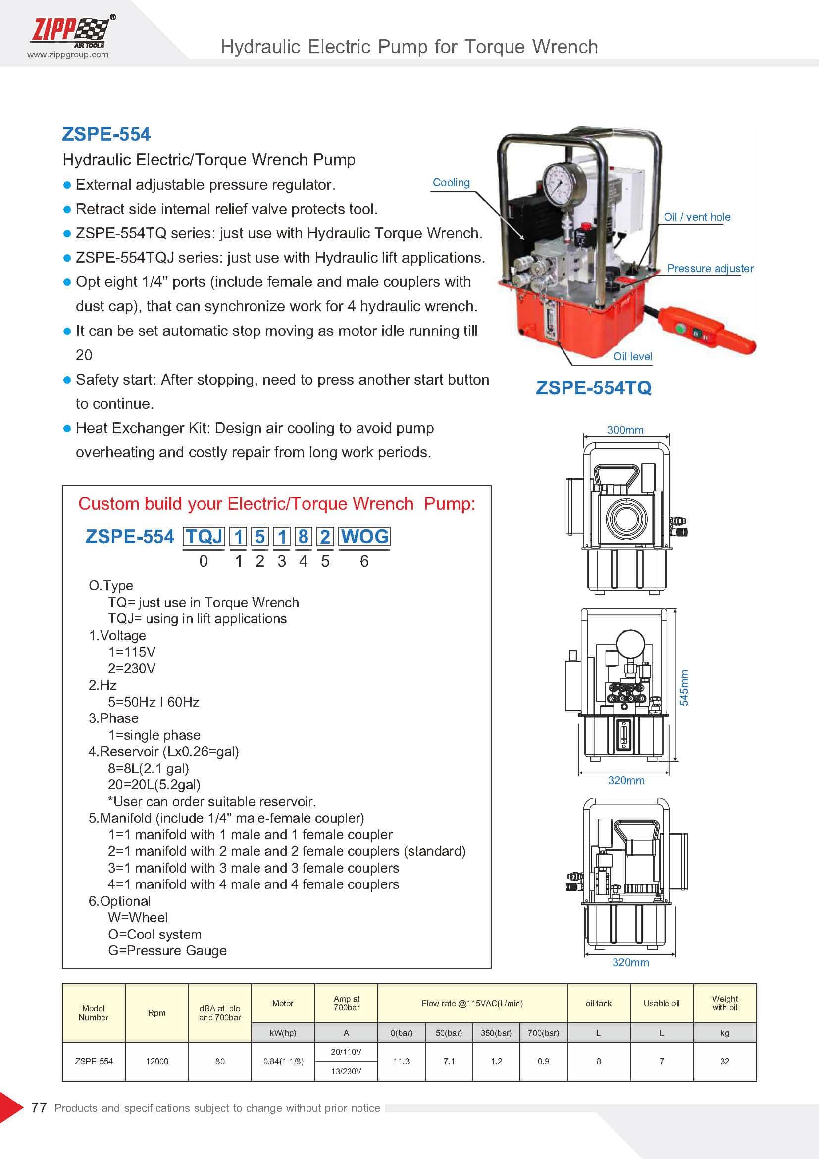 ZIPP Catálogo Geral da FERRAMENTA 頁面 082