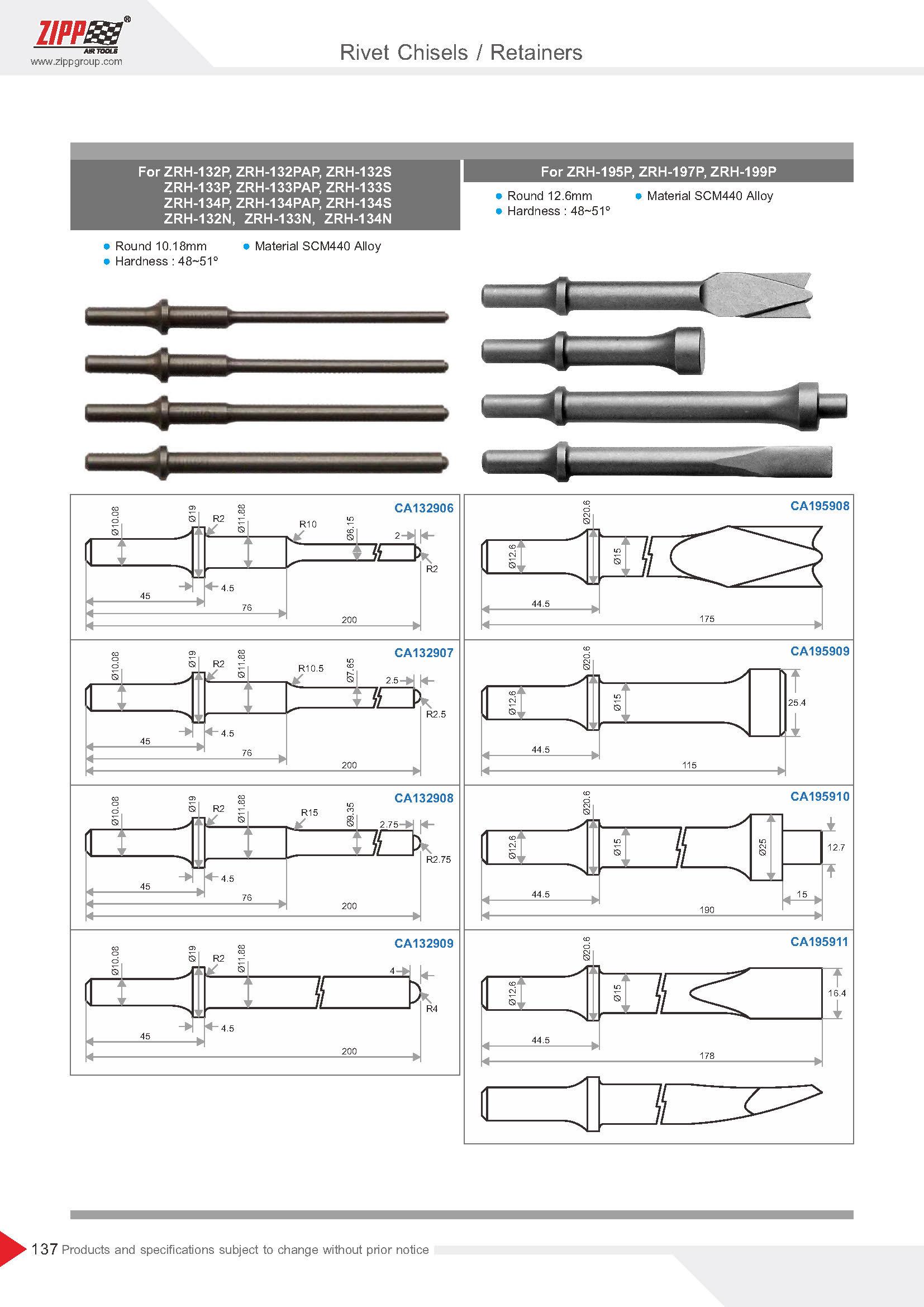 ZIPP Catálogo Geral da FERRAMENTA 頁面 142